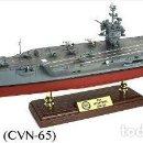 Hobbys: PORTAVIONES FORCES OF VALOR 1/700 USS ENTERPRISE USA. Lote 117292871