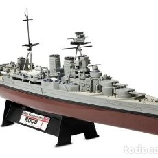 Hobbys: HMS BATTLECRUISER HOOD, ROYAL NAVY, DINAMARCA, 1941, 1/700, FORCES OF VALOR. Lote 117293139