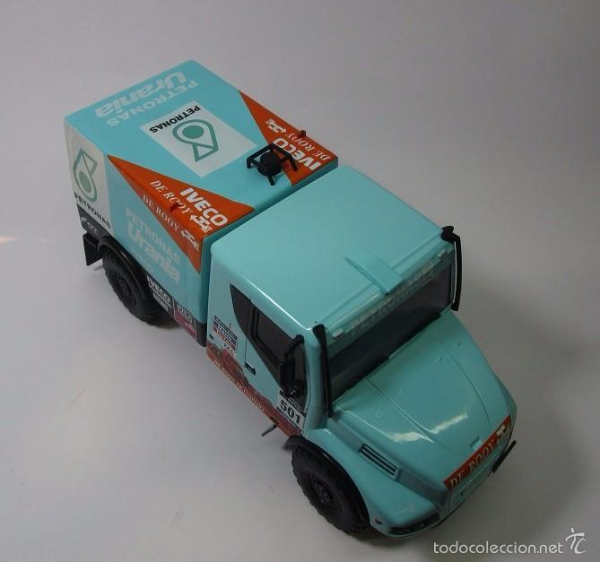 Hobbys: Camion Iveco Dakar Escala 1/43 Coleccion 16cm Largo Metalico - Foto 4 - 57877014