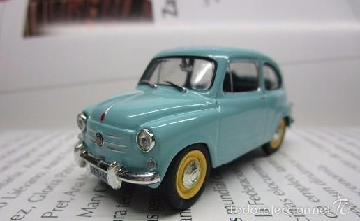 Hobbys: ZASTAVA FIAT 750 topolino ESCALA 1/43 METALICO COLECCION LUPPA 8CM LARGO. - Foto 3 - 57941603