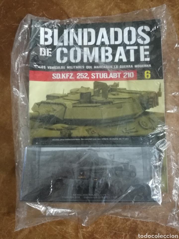 Hobbys: Blindados de combate.Sd.Kfz.252 + Sd.Anh.3 1/1 StuG.Abt210.USSR. 1941. Altaya - Foto 2 - 124951728