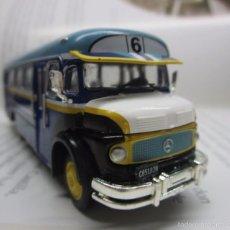 Hobbys: ANTIGUO AUTOBUS BUS BUSETA COLECTIVO MERCEDES ARGENTINA ESCALA 1/72 12CM LARGO METALICO COLECCION. Lote 57928272