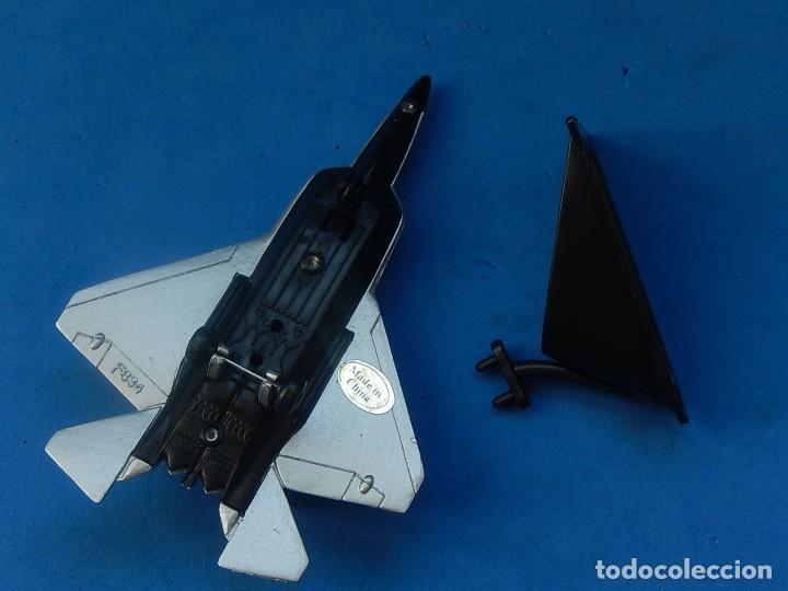 Hobbys: Pequeña maqueta avión estática. Avión americano. Spped Fighter. Fabricada en China. - Foto 10 - 129456743