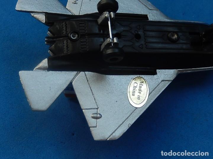 Hobbys: Pequeña maqueta avión estática. Avión americano. Spped Fighter. Fabricada en China. - Foto 12 - 129456743