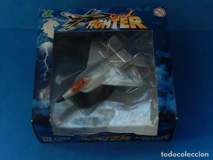 Hobbys: Pequeña maqueta avión estática. Avión americano. Spped Fighter. Fabricada en China. - Foto 15 - 129456743
