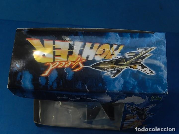 Hobbys: Pequeña maqueta avión estática. Avión americano. Spped Fighter. Fabricada en China. - Foto 19 - 129456743
