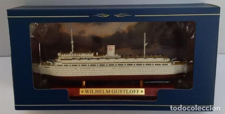 Hobbys: Transatlántico Wilhelm Gustloff, Alemania, 1938, 1:1250, Atlas - Foto 2 - 127953259