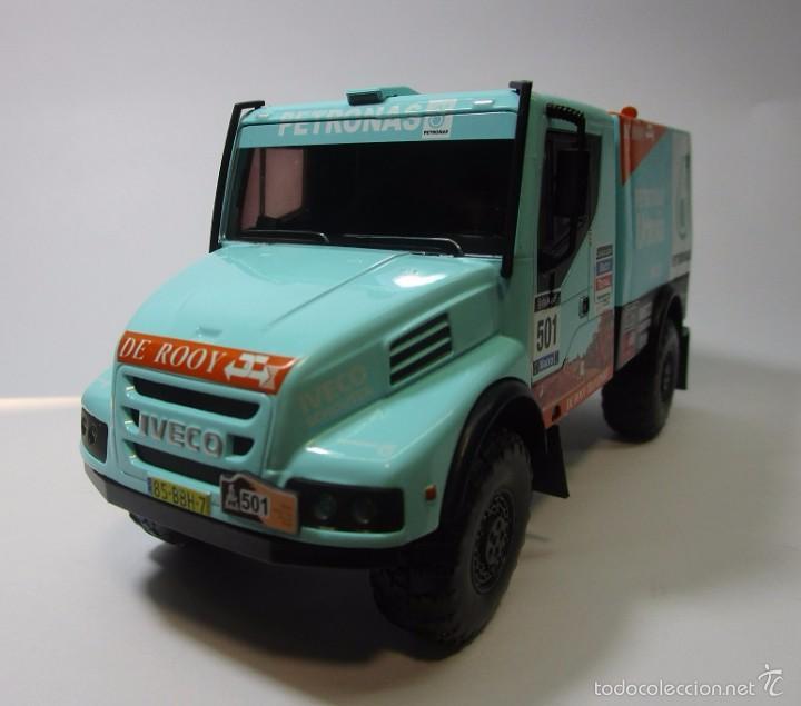 Hobbys: Camion Iveco Dakar Escala 1/43 Coleccion 16cm Largo Metalico - Foto 3 - 57877014