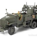 Hobbys: FORCES OF VALOR 1/32 GMC US 2.5 TON CARGO TRUCK 4 X .50 AA MACHINE GUN. Lote 130055687