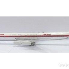 Hobbys: AVIÓN IBERIA DC8-63 INFLIGHT 1/200 DESCATALOGADO DIECAST. Lote 130575434