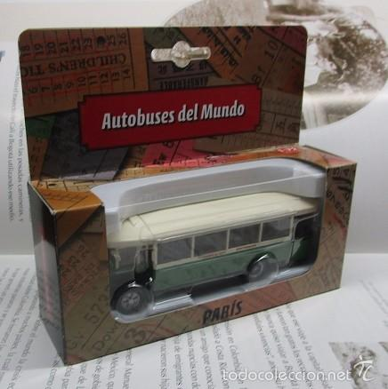 Hobbys: AUTOBUS BUS BUSETA PARIS ESCALA METALICO COLECCION / COLLECTION bus à lancienne IXO LUPPA - Foto 11 - 141664380