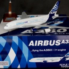 Hobbys: AVIÓN JC WINGS 1/200 AIRBUS INDUSTRIES AIRBUS A380-800 'FLYING THE A350 ENGINE'. Lote 131120244