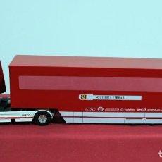Hobbys: IVECO FIAT FERRARI TRUCK STRALIS 480 CAR TRANSPORTER F1 2004 ESCALA 1/43. Lote 131867926