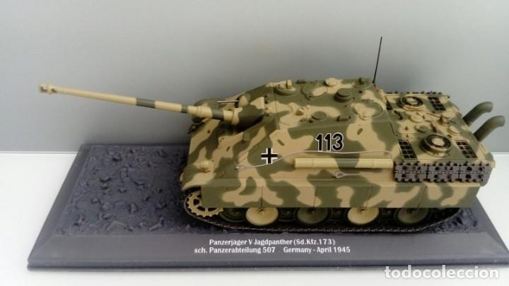 Hobbys: Carro de combate de la segunda guerra mundial PZ. JÄG. V. JAGDPANTHER (SD. KFZ. 173). alemania - Foto 2 - 133662754