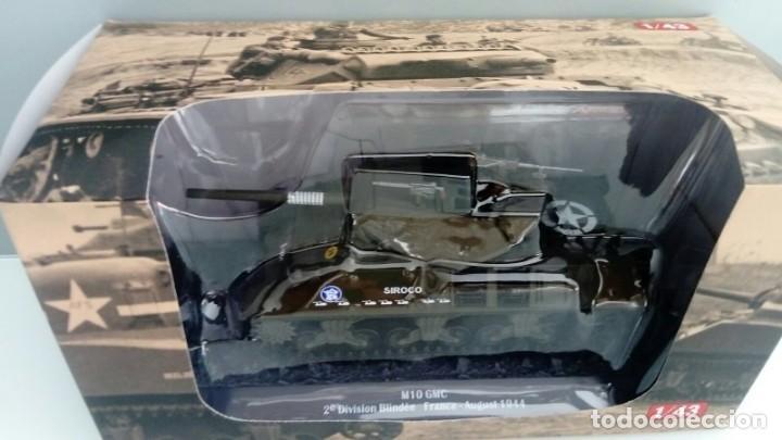 CARRO DE COMBATE DE LA SEGUNDA GUERRA MUNDIAL 3-INCH GUN MOTOR CARRIAGE M10. USA (Juguetes - Modelismo y Radiocontrol - Diecast)