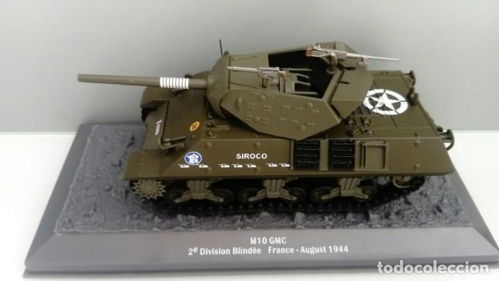Hobbys: Carro de combate de la segunda guerra mundial 3-INCH GUN MOTOR CARRIAGE M10. USA - Foto 2 - 133663042