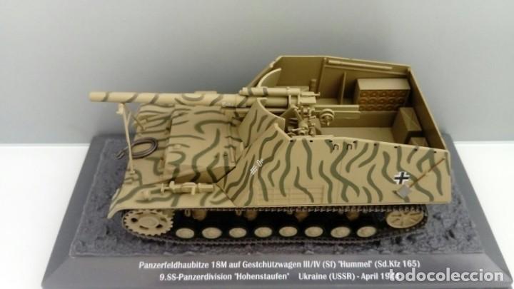 Hobbys: Carro de combate de la segunda guerra mundial SD. KFZ. 165 HUMMEL. Alemania - Foto 2 - 133663306