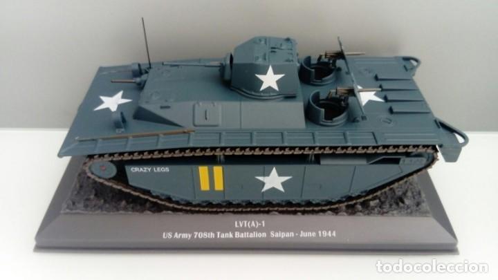 Hobbys: Carro de combate de la segunda guerra mundial LVT (A)-1. USA - Foto 2 - 133663574