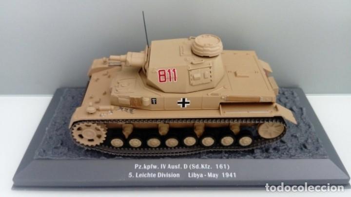 Hobbys: Carro de combate de la segunda guerra mundial PZ. KPFW. IV AUSF. D (SD. KFZ. 161). Alemania - Foto 2 - 133663890