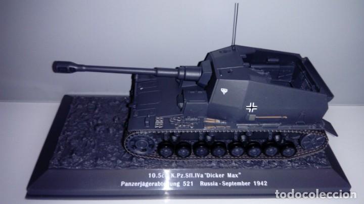 Hobbys: Carro de combate de la segunda guerra mundial 10. 5CM K. PZ. SFL. IVA DICKER MAX. Alemania - Foto 2 - 133664430