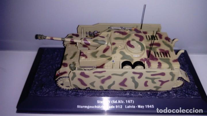 Hobbys: Carro de combate de la segunda guerra mundial STURMGESCHÜTZ IV (SD. KFZ. 167). Alemania - Foto 2 - 133665034