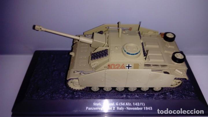 Hobbys: Carro de combate de la segunda guerra mundial STUG. III 40 AUSF. G (SD. KFZ. 142/1). Alemania - Foto 2 - 133665322