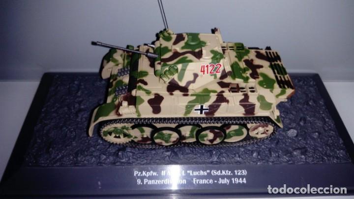 Hobbys: Carro de combate de la segunda guerra mundial PZ. KPFW. II AUSF. L LUCHS (SD. KFZ. 123). Alemania - Foto 2 - 133665798