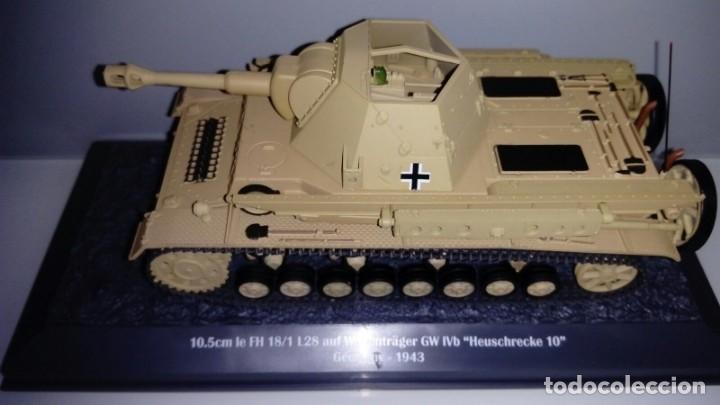Hobbys: Carro de combate de la segunda guerra mundial 10. 5CM LEFH 18/1 L28 AUF WAFFENTRAGER GW IVB. Alemani - Foto 2 - 133666258