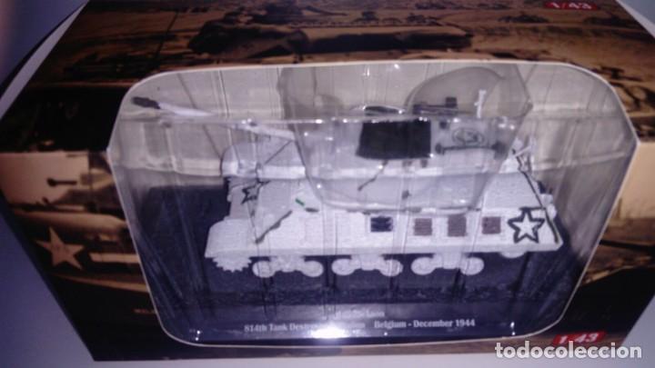 CARRO DE COMBATE DE LA SEGUNDA GUERRA MUNDIAL 90MM GUN MOTOR CARRIAGE M36. USA (Juguetes - Modelismo y Radiocontrol - Diecast)