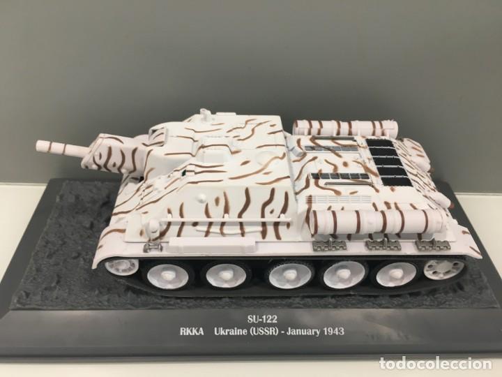 Hobbys: Carro de combate de la segunda guerra mundial SU-122. URSS - Foto 2 - 134217786