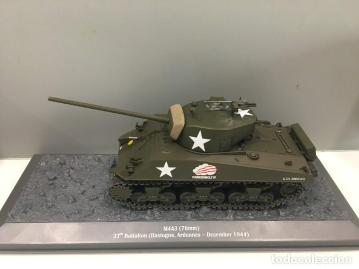 Hobbys: Carro de combate de la segunda guerra mundial M4A3 SHERMAN. USA - Foto 2 - 134219158