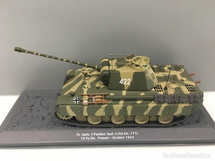 Hobbys: Carro de combate de la segunda guerra mundial PZ.KPFW. V PANTHER AUSF.A (SD.KFZ. 171). Alemania - Foto 2 - 134220426