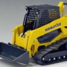 Hobbys: MINICARGADORA COMPACTA SOBRE CADENAS JOAL 40085 KOMATSU CK35-1 1/25. Lote 143821842