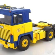 Hobbys: CAMIÓN SCANIA LBT 141 ASG 1976 ROAD KINGS ESCALA 1/18. Lote 142873002