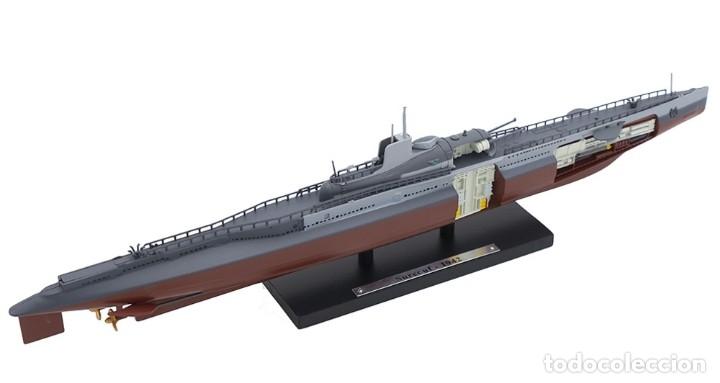ATLAS SUBMARINO 2ªGM SURCOUF 1942 FRANCIA U-BOOT 1/350 (Juguetes - Modelismo y Radiocontrol - Diecast)