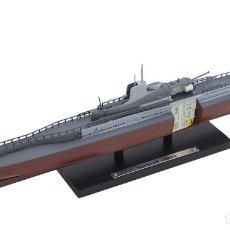 Hobbys: ATLAS SUBMARINO 2ªGM SURCOUF 1942 FRANCIA U-BOOT 1/350. Lote 117658551