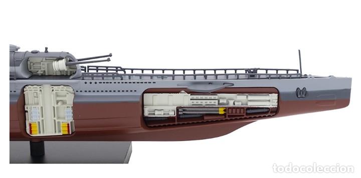Hobbys: Atlas Submarino 2ªGM Surcouf 1942 Francia U-Boot 1/350 - Foto 3 - 117658551