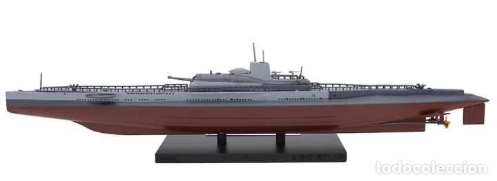 Hobbys: Atlas Submarino 2ªGM Surcouf 1942 Francia U-Boot 1/350 - Foto 2 - 117658551