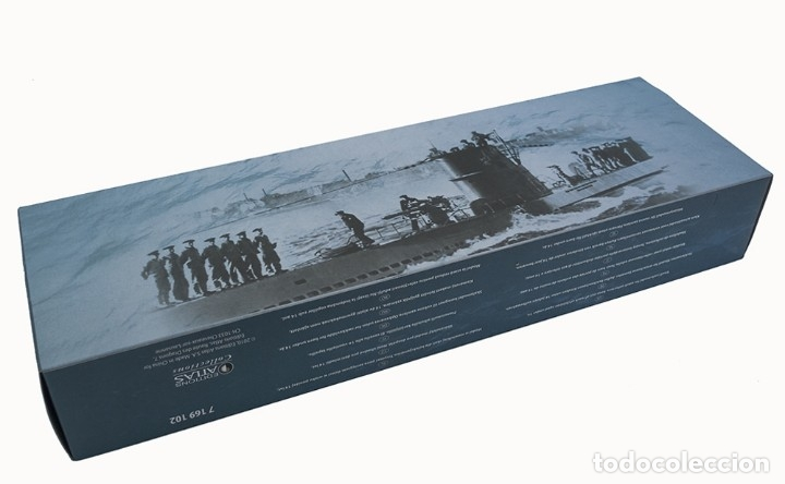 Hobbys: Atlas Submarino 2ªGM Surcouf 1942 Francia U-Boot 1/350 - Foto 4 - 117658551