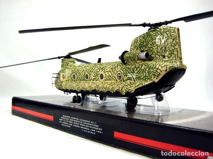 Hobbys: Corgi 1/72 Helicóptero Boeing-Vertol Chinook HC.1, Special Air Service Operations, RAF - Foto 2 - 147182246
