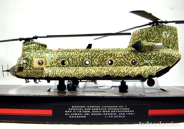 Hobbys: Corgi 1/72 Helicóptero Boeing-Vertol Chinook HC.1, Special Air Service Operations, RAF - Foto 3 - 147182246