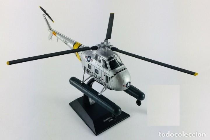 Hobbys: Helicóptero con flotadores SIKORSKY-H-19-A-USA 1/72 ALTAYA - Foto 2 - 206487302