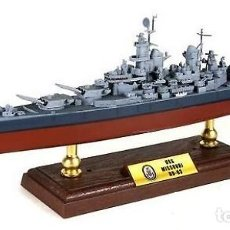 Hobbys: ACORAZADO USS MISSOURI BB-63, 1:700, FORCES OF VALOR. Lote 150607294