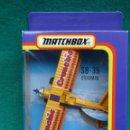 Hobbys: AVIONETA PUBLICITARIA SB.36 STEARMAN....CIRCO VOLADOR..MATCHBOX...AÑOS 90..METAL... Lote 159649782