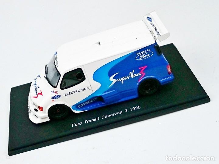 Hobbys: SPARK FORD TRANSIT SUPERVAN 3 1995 - EN RESINA YA MONTADA - Foto 6 - 164129602