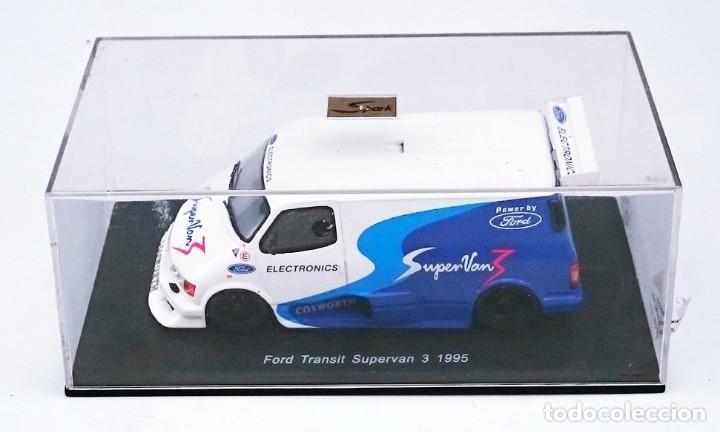 Hobbys: SPARK FORD TRANSIT SUPERVAN 3 1995 - EN RESINA YA MONTADA - Foto 7 - 164129602