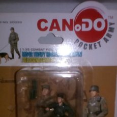 Hobbys: 1 COMBAT FIGURES 1/35 DRAGON CANDO POCKET ARMY .ITEM NO: 20033. SERIE 7 MOD C. Lote 164836718