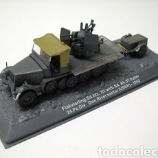 Hobbys: FLAKVIERLING SD.KFZ.7/1 WITH SD.AH.51 TRAILER 24.PZ.DIV, DON RIVER SECTOR (USSR) 1942, 1:72. Lote 165649870