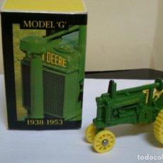 Hobbys: JHON DEERE TRACTOR 1/64 NUEVO CON CAJA ERTL. Lote 166732754