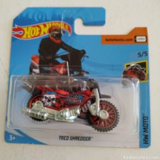 Hobbys: HOT WHEELS TRED SHREDDER 1/64 HW MOTO 5/5. Lote 167216602